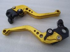 Ducati HYPERMOTARD 796 (10-12), CNC levers short gold/black adjusters, DB12/D22